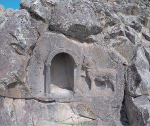Binilmiş At işareti ve mihrab