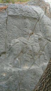 Binilmiş At kabartması