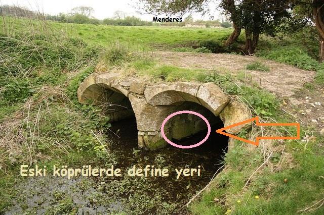 Eski Köprülerde Define, köprü kemerleri