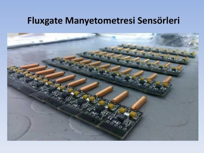 manyetometre sensörleri