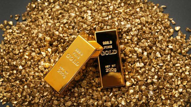 altın ve külçe
