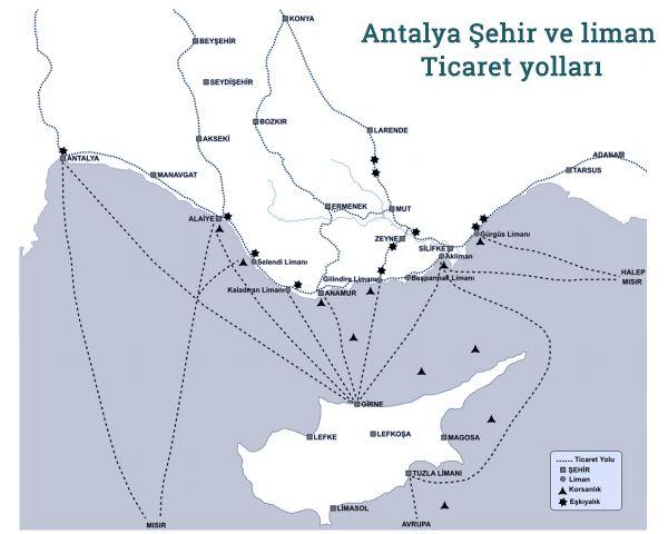 Antalya Bölgesinde Eşkiyalık