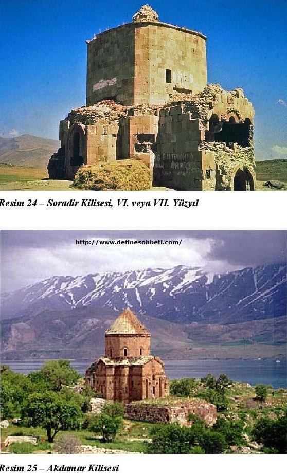 Ermeni Kiliselerinin Mimarisi akdamar kilisesi