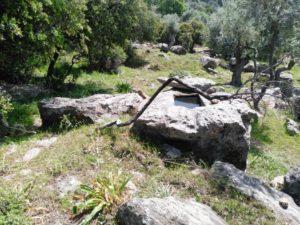 Yuvarlak Oyma ve Kaya Mezarı, Çözülmüş İşaret