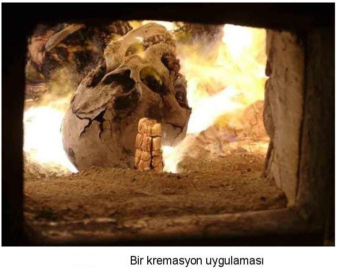yunan yakarak gömme