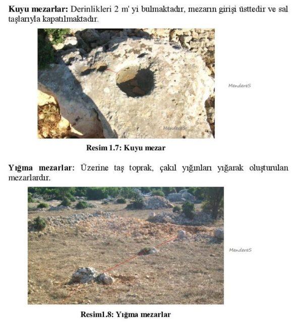 mezar tipleri yığma mezar