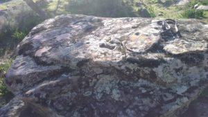 Volçan'ın namazlık taşı, mihrap işaretleri