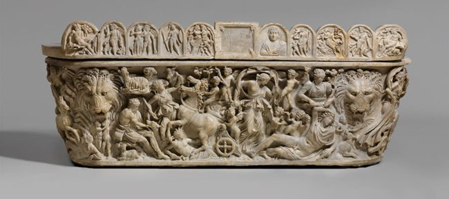 Antik Roma Lahitleri mermer lahit
