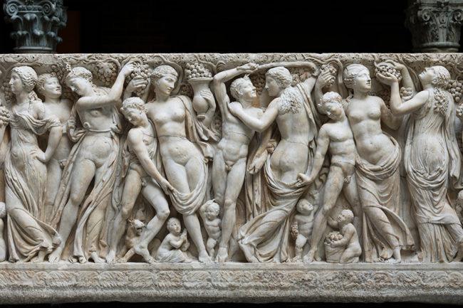 Antik Roma Lahitleri , lahit gurupları