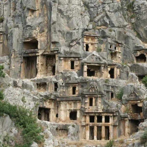 Likya Kaya Mezarları resmi