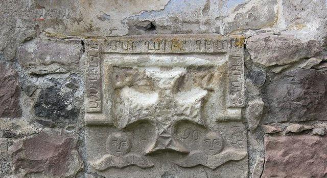 Ermeni Kaya ve Resim Sanatı haç sembolü
