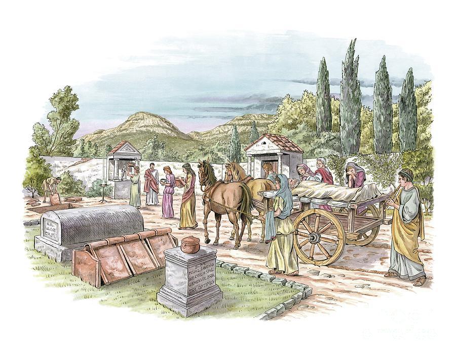 Roma Döneminde Ölüm ve Cenaze Töreni