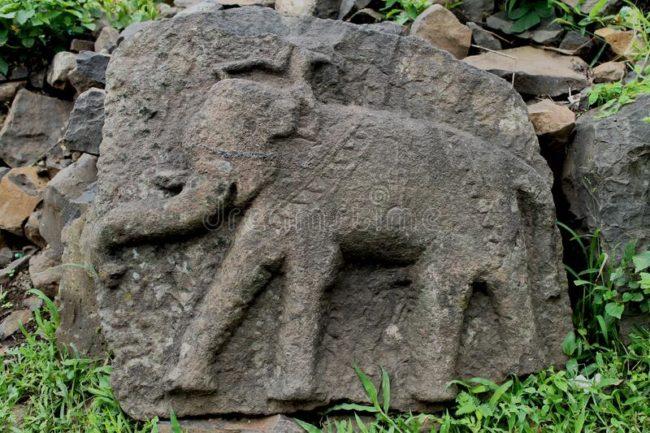 kabartma fil işareti