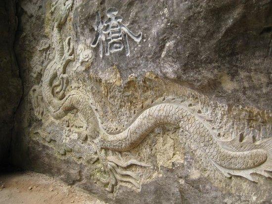 ayaklı yılan define işareti