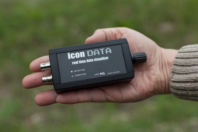 ICON DATA metal dedektörü veri kayıt cihazı