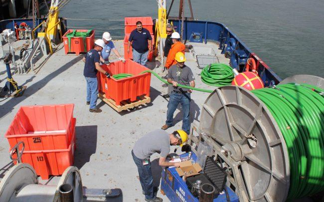 GeoEel Solid Dijital, Deniz Sismografı