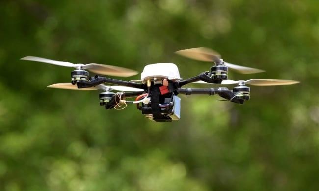 Metan Dedektörleri, Drone İle Kullanımı