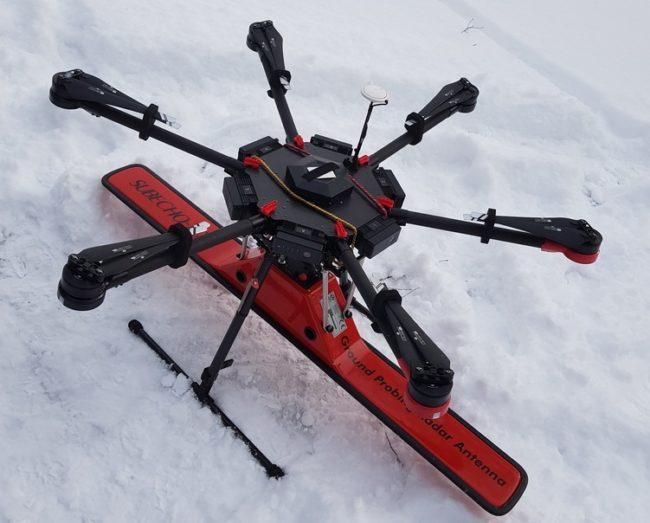 Drone İle GPR Kullanımı