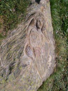 Çıplak Kadın, Çiçek Gül Papatya İşaretleri
