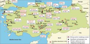 türkiyedeki arkeolojik alanlar