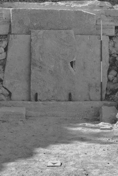 Yığma Mezar kapısı