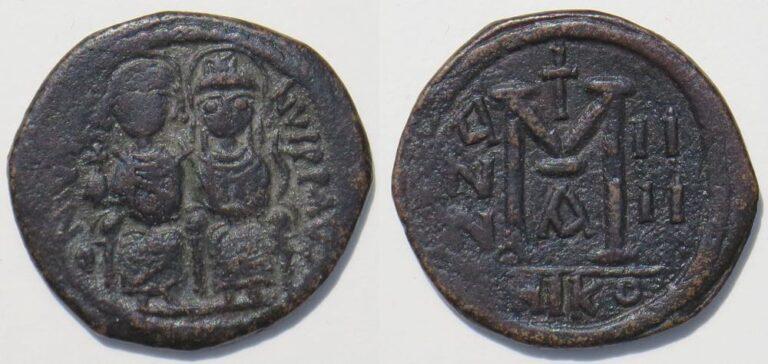 Bizans Paralarındaki Harfler ve Rakamlar