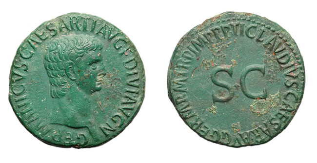 Kronolojik roma bronz sikkeleri