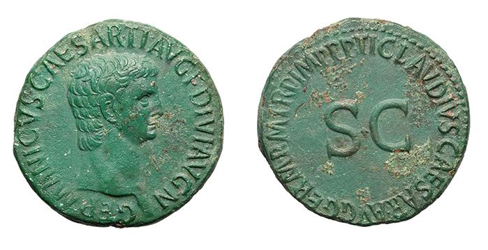 Kronolojik Roma Sikkeleri ve Üzerindeki Yazılar