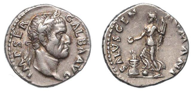 Kronolojik roma gümüş sikkeleri