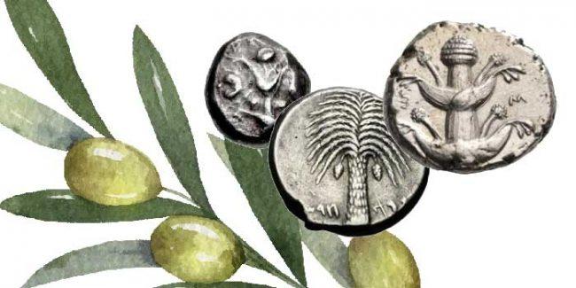 Yunan Sikkelerinde Bitkiler ve Ağaçlar