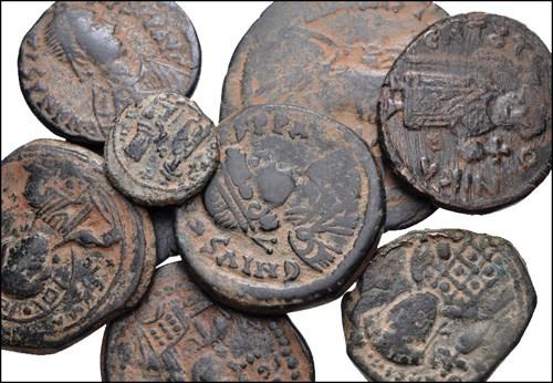 Bizans Bakır Paraları Müzayede Fiyatları