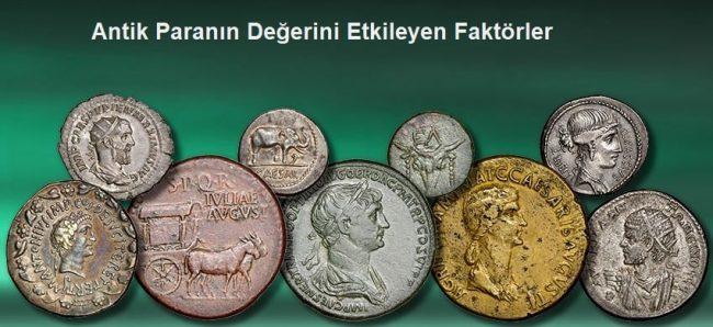 Antik Paranın Değerini Etkileyen Faktörler