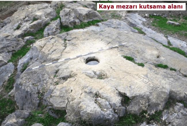 Kaya Mezarları ve Girişleri