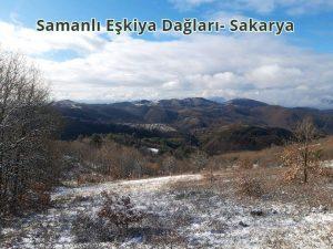Sakarya, Anda Dağı ve Yeşil Dağ